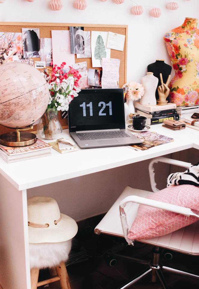 home office cute and creative